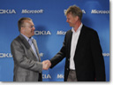 Microsoft and Nokia form global alliance to design, develop and market mobile productivity solutions