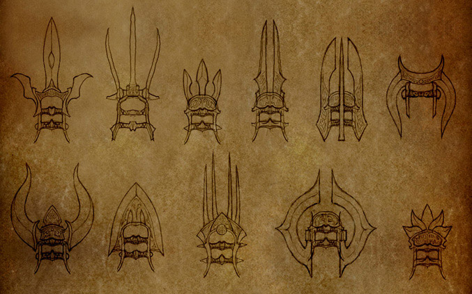 Monk Fist Weapons