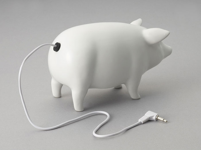 Piggy speakers