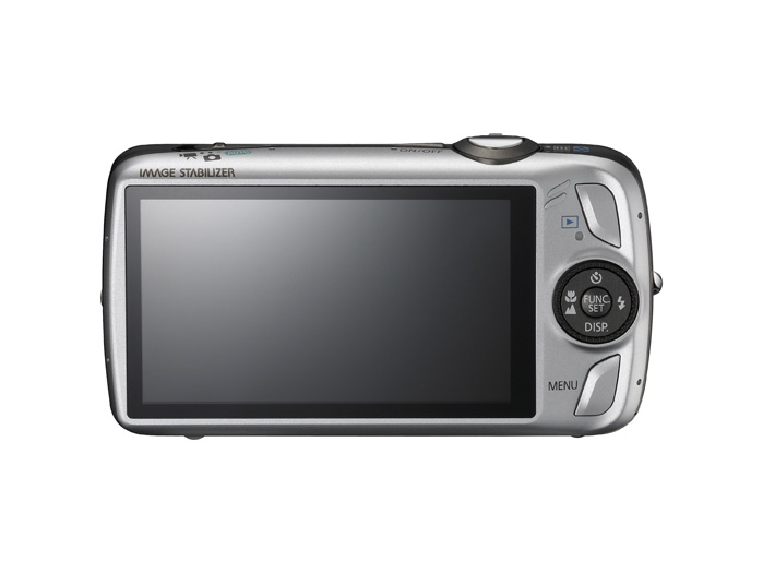PowerShot SD980 IS - Back - Silver