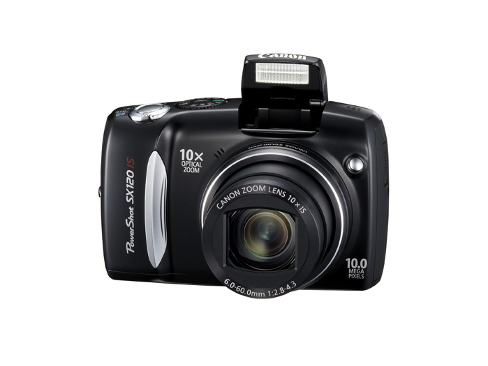 PowerShot SX120 IS - Front