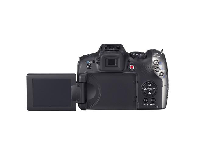 PowerShot SX20 IS - Back