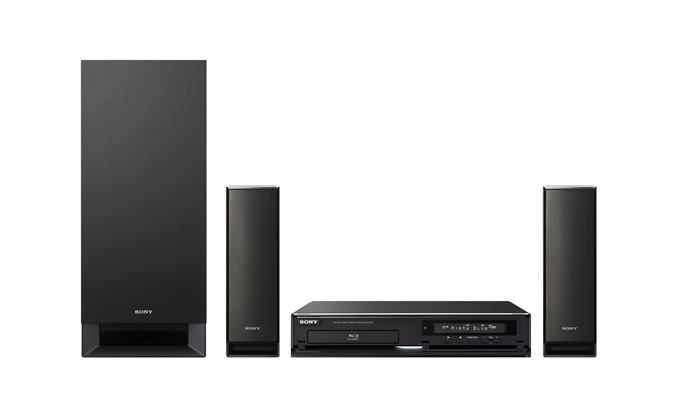 Sony BDV-Z7 open