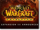 Blizzard Announced third expansion to World of Warcraft: Cataclysm