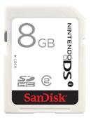 8GB Nintendo DSi SDHC Memory Card