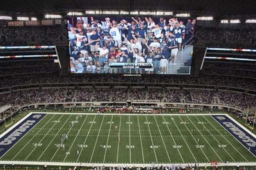 Dallas Cowboys Stadium Sideline Display