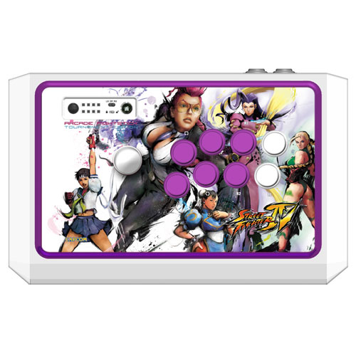 Femme Fatale Street Fighter IV Arcade FightStick