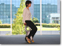 Honda's New Personal Mobility Device U3-X enables movement in all directions