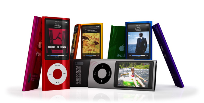 Ipod nano with Bult in Video Camera