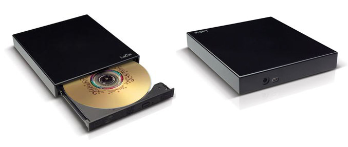 LaCie Portable DVD±RW Design by Sam Hecht