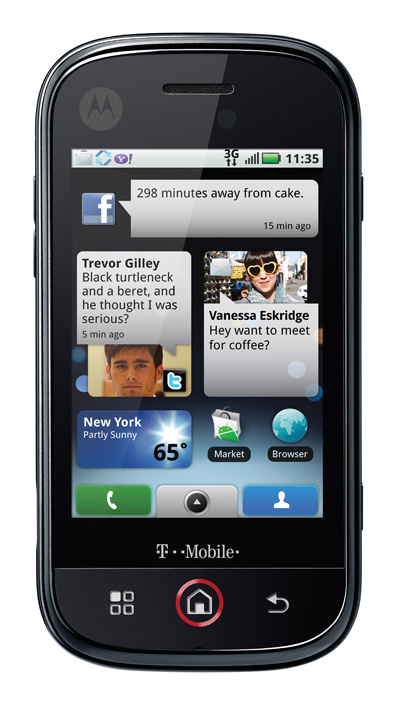 Motorola CliQ MB200