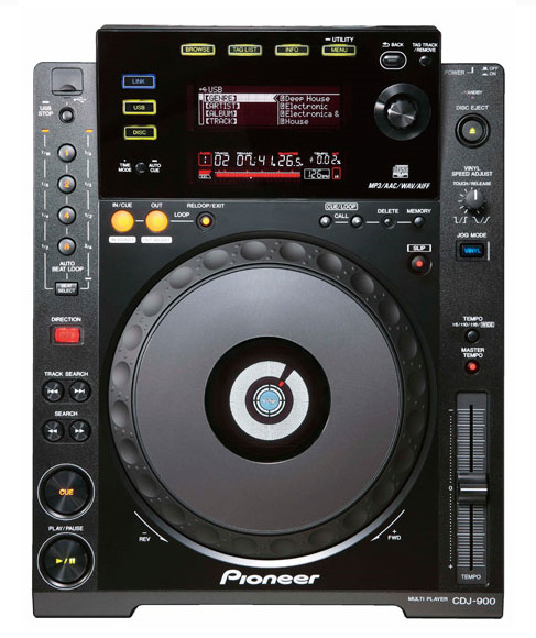 pioneer launched two multi format digital turntables cdj 2000 and cdj 900. Black Bedroom Furniture Sets. Home Design Ideas