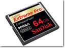 SanDisk Launches Extreme Pro CompactFlash memory cards