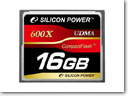 Silicon Power Unleashes 600X professional Compact Flash Card