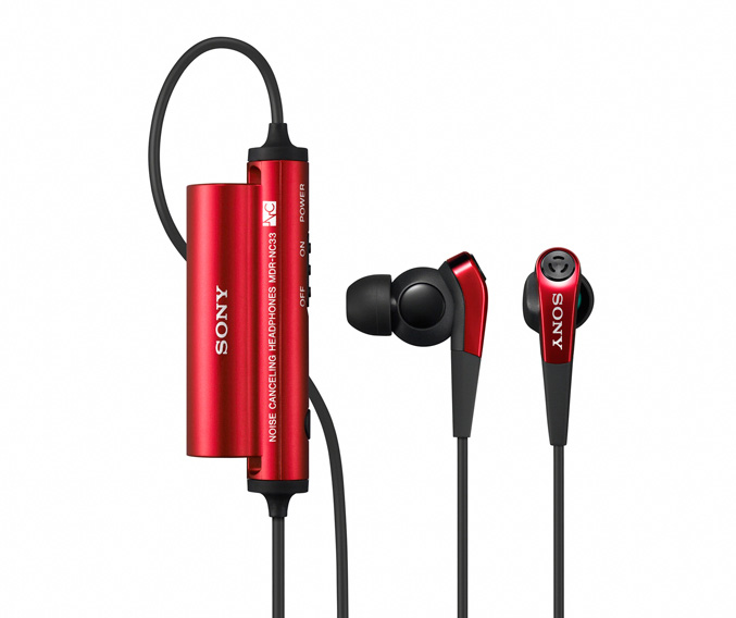 Sony MDR-NC33 red
