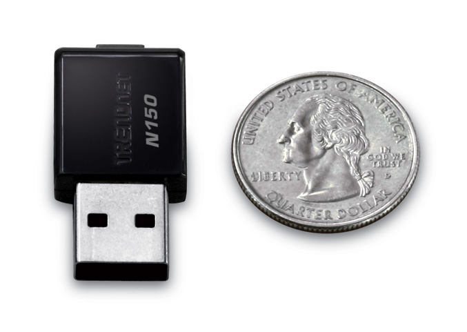 TRENDnet Mini Wireless N USB Adapter(TEW-648UB)