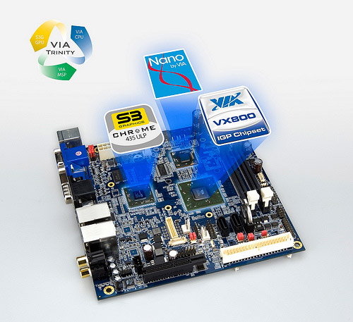 Via VB0883 Mini-ITX board