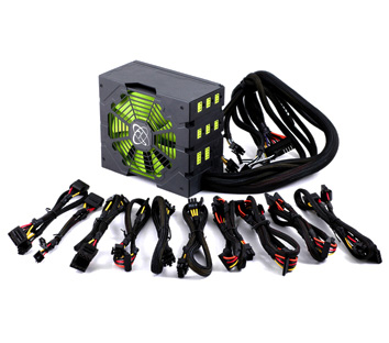 XFX 850W Black Edition Power Supply Unit