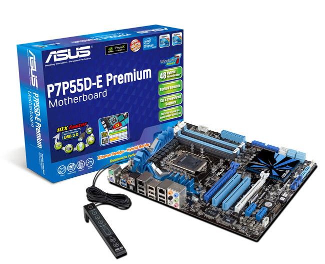 ASUS P7P55D-E/P7P55D Series