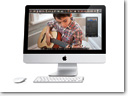Apple unveiled new iMacs featuring LED-backlit 21.5 and 27-inch widescreen displays