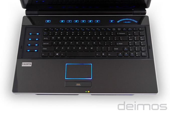 BFG Deimos X-10 Gaming Notebook