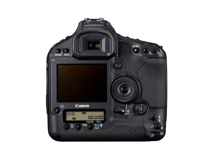 Canon EOS 1D Mark IV - back