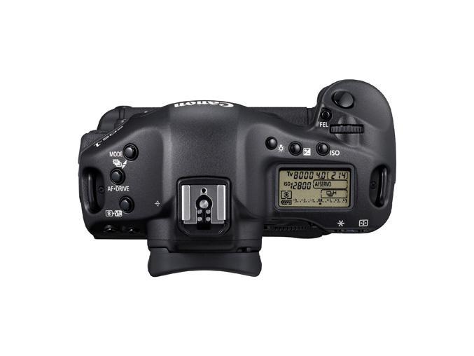 Canon EOS 1D Mark IV - top