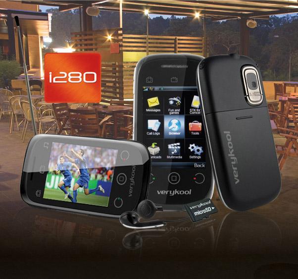 InfoSonic verykool i280 TV phone