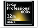 Lexar Introduces Professional 600x Compact Flash Memory Card
