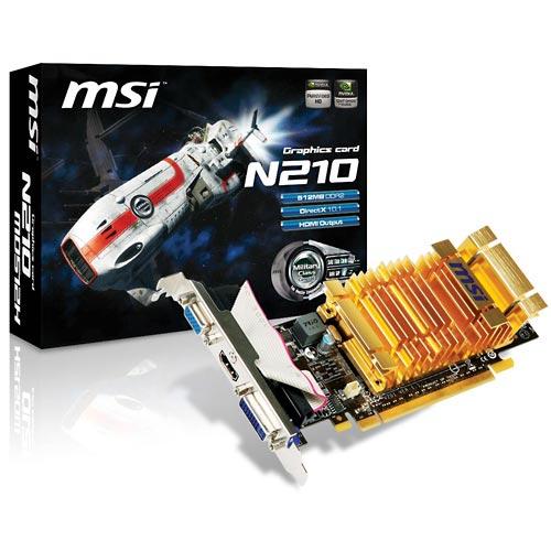 MSI N210-MD512H