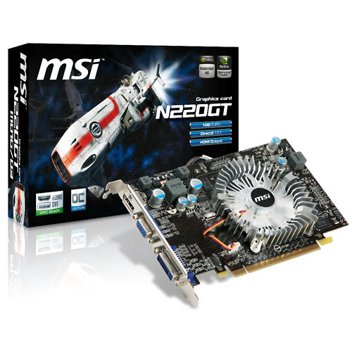 MSI N220GT-MD1GD3