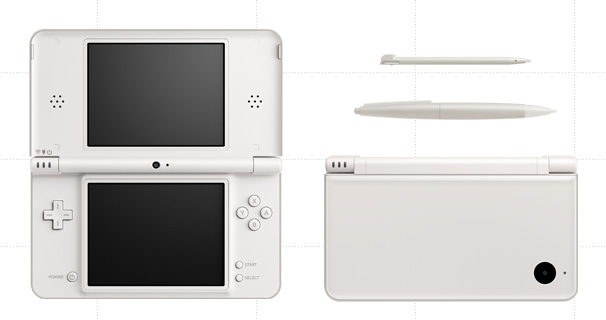 Nintendo DSi LL Natural White
