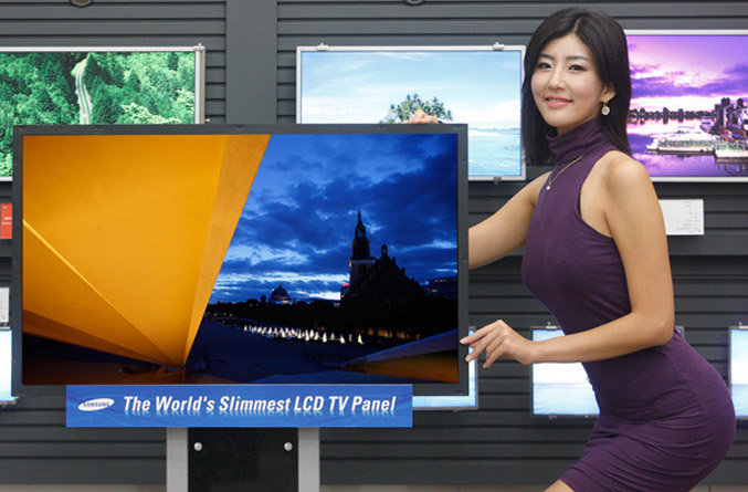Samsung Needle Slim LCD TV