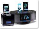Sanyo launches Cube Alarm Clock Radio and Dual Dock Music System