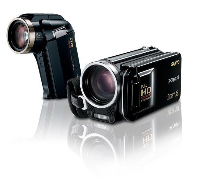 Sanyo Dual Cameras- VPC HD2000A and VPC-FH1A