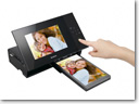 Sony launches S-Frame digital photo frame with built-in printer