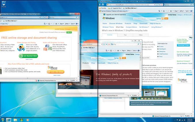 Windows 7 snapshot