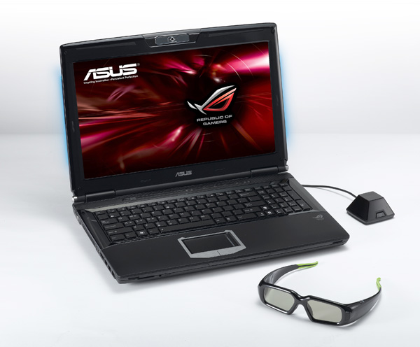ASUS G51J 3D Gaming Notebook