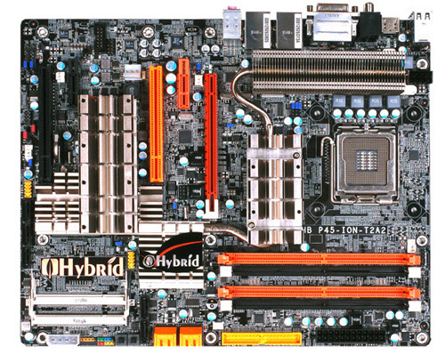 DFI P45-ION-T2A2 Hybrid Motherboard