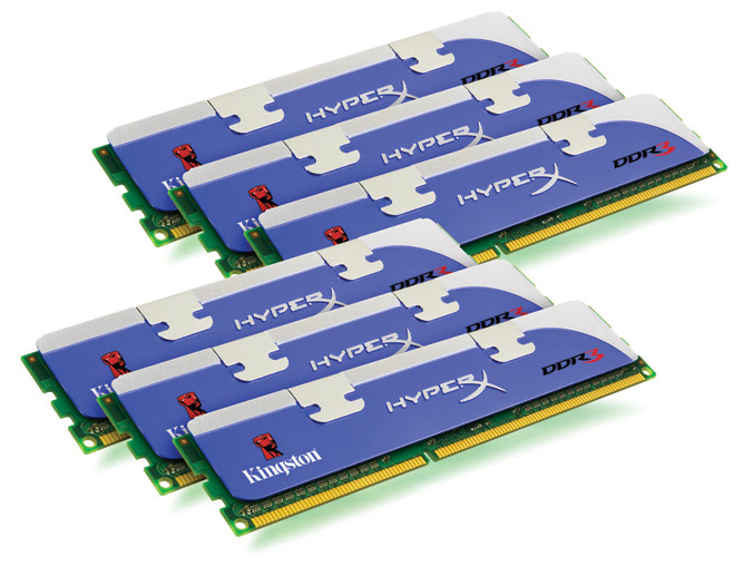 Kingston HyperX DDR3 6-pack