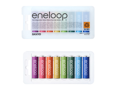 """Sanyo eneloop battery pack """"eneloop tones"""""""