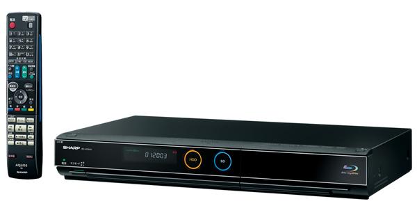 Sharp BD-HDS43 Blu-ray HDD combo