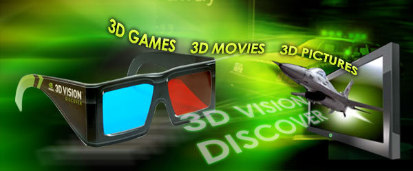 Sparkle 3D vision glasses