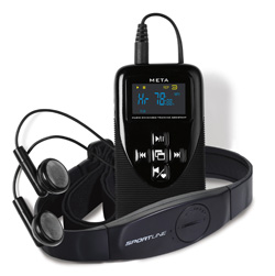 Sportline META MP3 training assistant