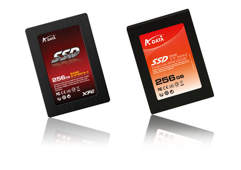 "A-data XPG SX95 and S592 2.5"" SATA II SSD"