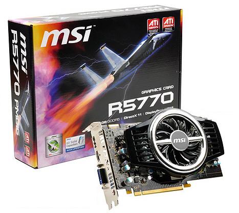 MSI R5770-PMD1G