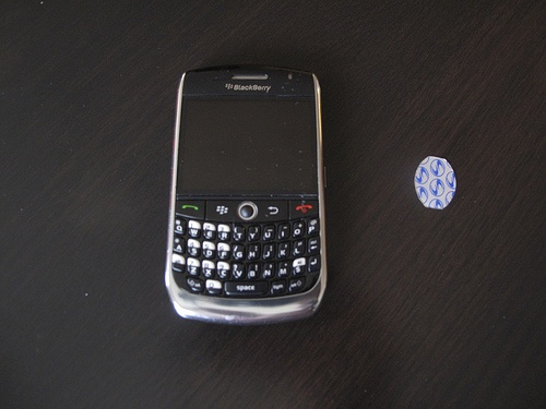 SAR shield and blackberry