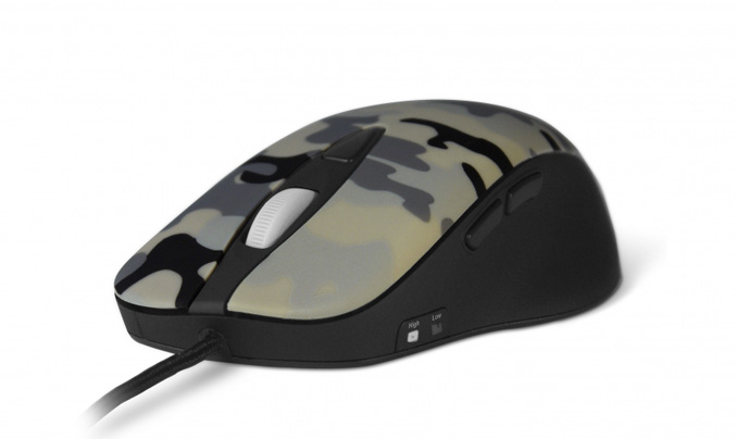StealSeries Limited Edition Sudden Attack Ikari Laser Mouse