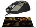SteelSeries Announces Limited Edition Sudden Attack Ikari Laser Mouse And QcK Mass Mousepad