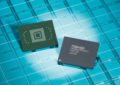 Toshiba 64GB NAND flash memory module